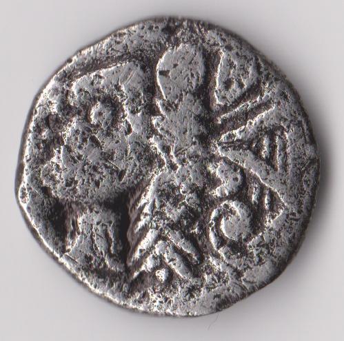 ma premiére monnaie postée, une gauloise trés curieuse ! Rhoda111