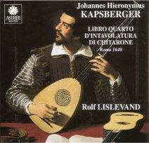 Kapsberger : suites pour luth, chitarrone, airs...  Kapsbe11