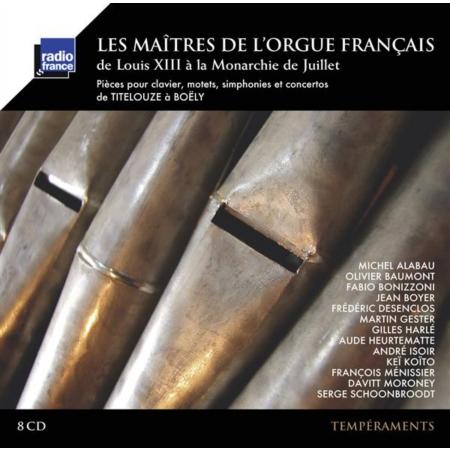 L'Orgue français sous l'Ancien Régime : discographie Maatre10