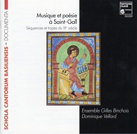 Monodie grégorienne - polyphonie médiévale Musiqu10