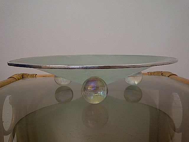 Art Glass Bowl by JANE COLE Img-2323
