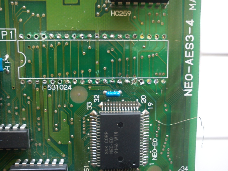 TUTO INSTALLATION UNIVERSE BIOS 3.0 NEO GEO AES 3-3 (serial:021239) - Page 2 Img_2043