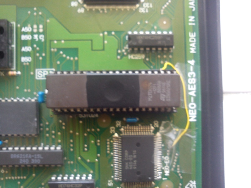 TUTO INSTALLATION UNIVERSE BIOS 3.0 NEO GEO AES 3-3 (serial:021239) - Page 3 Img_2044