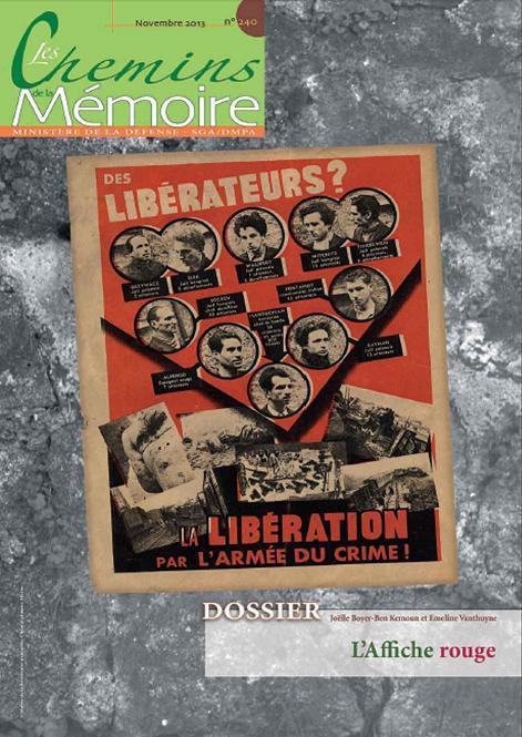 """Consultez le dernier numéro de la revue """"Les Chemins de la mémoire"""" Les-ch10"""