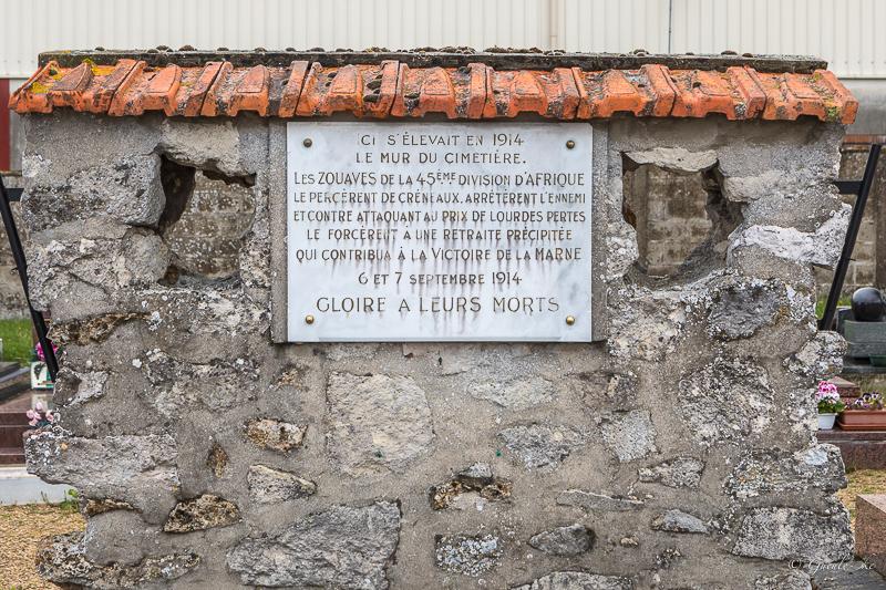Circuit de la bataille de la Marne 1914 le 16/05/2021 (majoritairement...) Chambr11