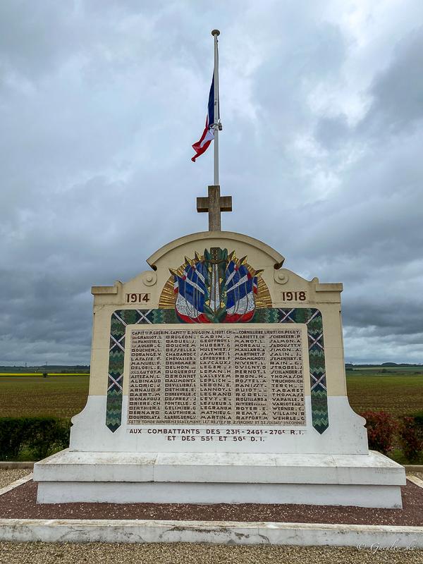 Circuit de la bataille de la Marne 1914 le 16/05/2021 (majoritairement...) Chauco10