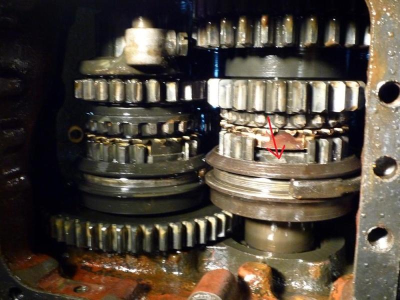 Unimog 406 Moteur OM 312 P1030311