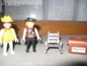 Playmobil: personaggi, armi, cavalli, forziere Playmo13