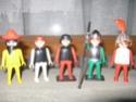 Playmobil: personaggi, armi, cavalli, forziere Playmo14