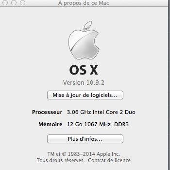 problème à l'intégration des bias Mac_ti10