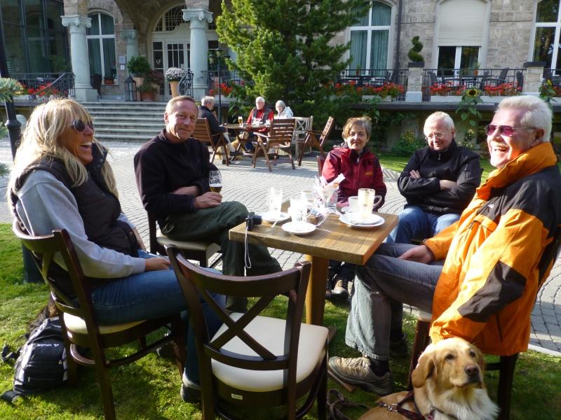 Semaine de sociabilisation Hovawart en Suisse P1010611
