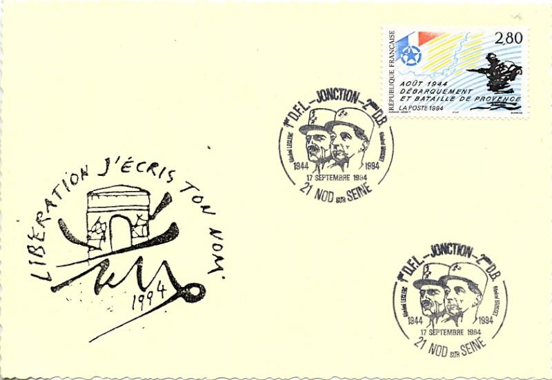 NOD-SUR-SEINE (Philatélie) 1994_n10