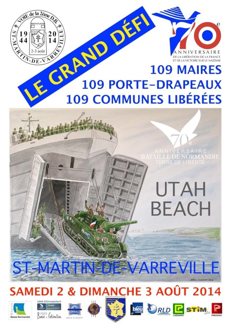 SAINT-MARTIN-DE-VARREVILLE 2-3 août 2014-70ème anniversaire Affich16