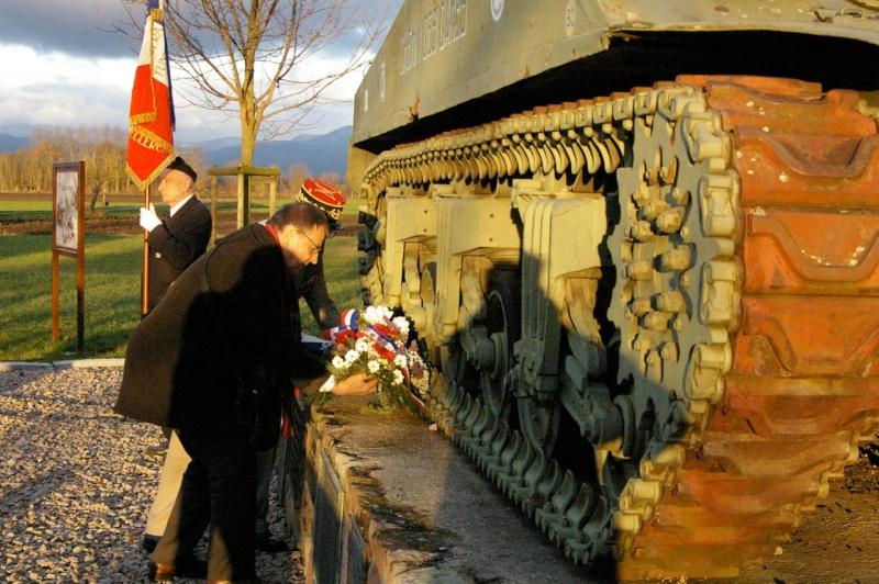 "GRUSSENHEIM (26 janvier 2014): au sherman ""Chemin des Dames"" Chemin11"