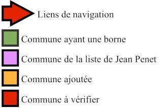 INDEX CARTOGRAPHIQUE DES LIEUX LIÉS À LA 2ème DB Lagend10