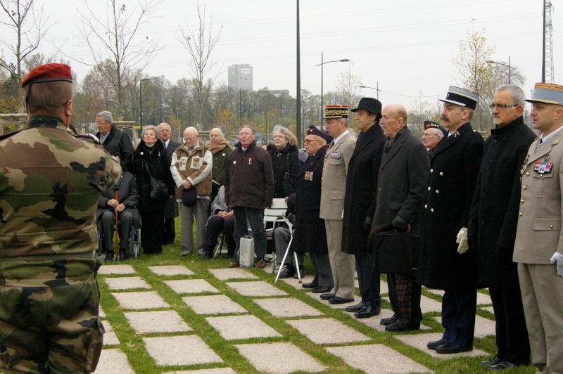 STRASBOURG 16/11/2013 inauguration stèle 40ème RANA Strasb17