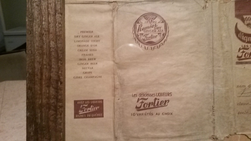 Couverture de livre Liqueurs Fortier 00215