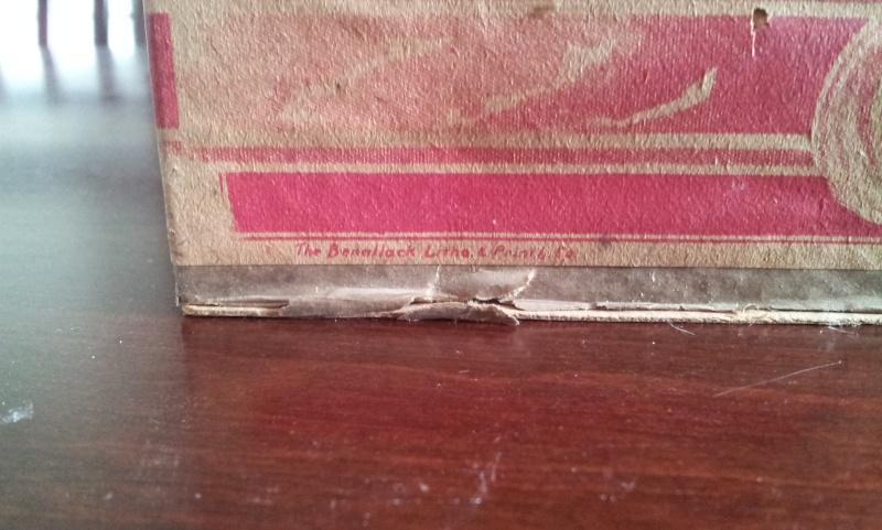 Boite en carton de cream sodas ROWELL SON & CO. 00610