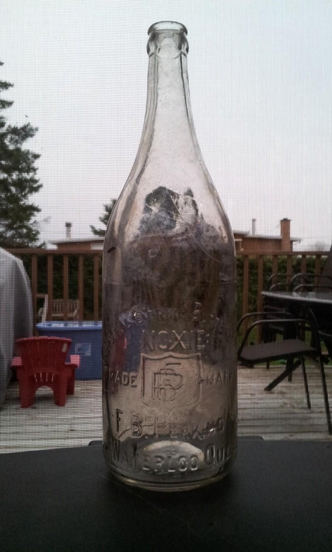 Soumission pour le concours de la bouteille sauvage 1er octobre - 30 novembre 01914