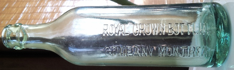 Royal Crown Bottling Company Montreal 11a16a10