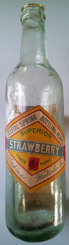 F.B. Perkins, Crystal Spring Bottling Works de Waterloo 11a16a11