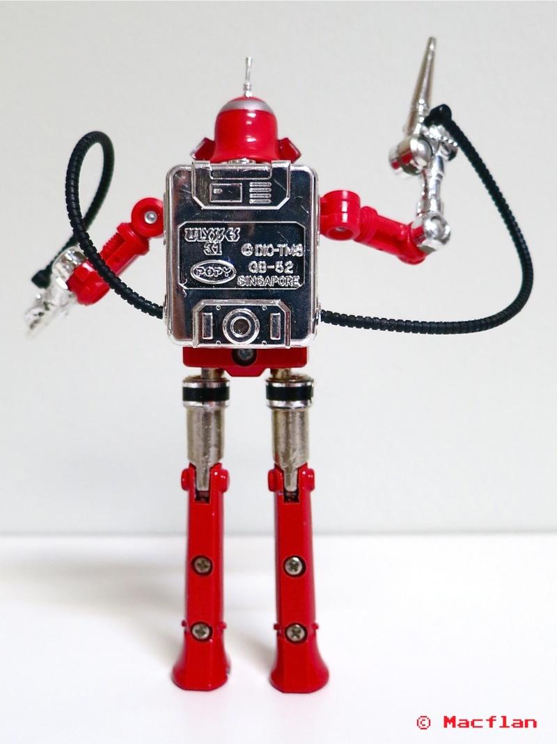 ULYSSE 31 : les jouets vintage et produits dérivés Robot_16