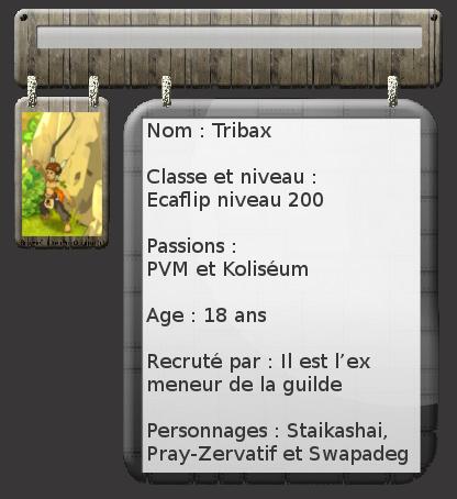 [Refusée] Neverland au rapport ! Tribax10