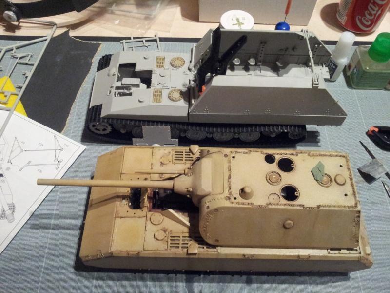 geschutzwagen tiger fur 17cm kanone 72 (sf) [Trumpeter, 1/35] 20140418