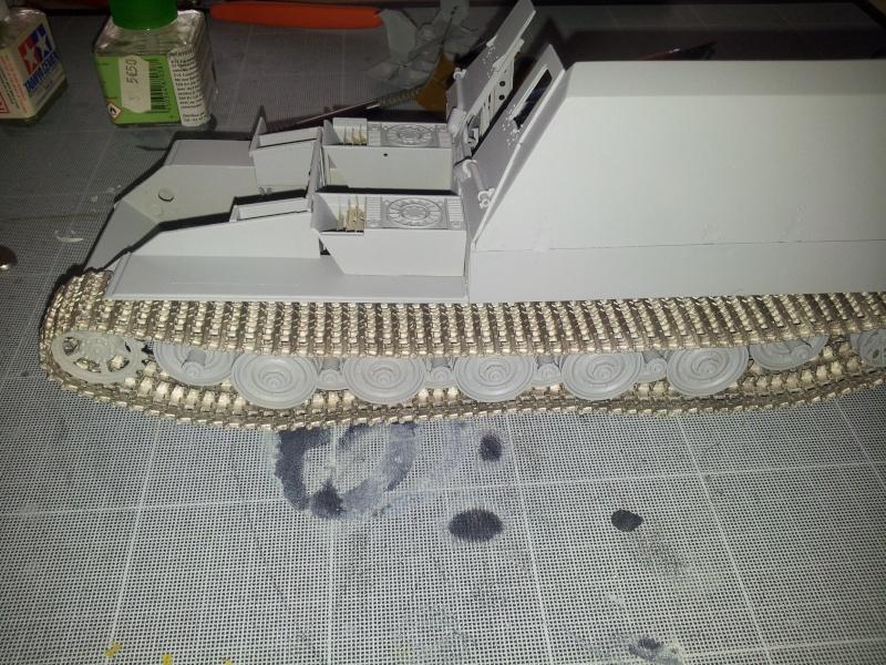 geschutzwagen tiger fur 17cm kanone 72 (sf) [Trumpeter, 1/35] - Page 2 20140443