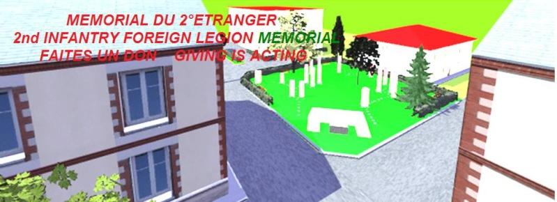 Le mémorial du 2°REI 88204410