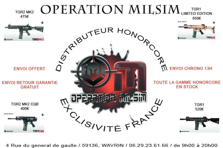 OPERATION MILSIM DISTRIBUTEUR EXCLUSIF HONORCORE Honorc10