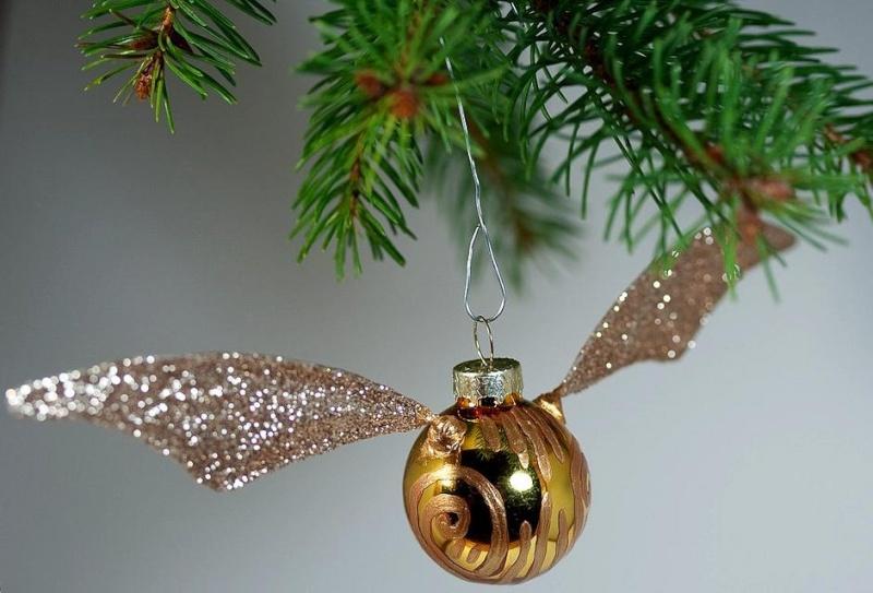 sapin, décos Noël HP Golden12