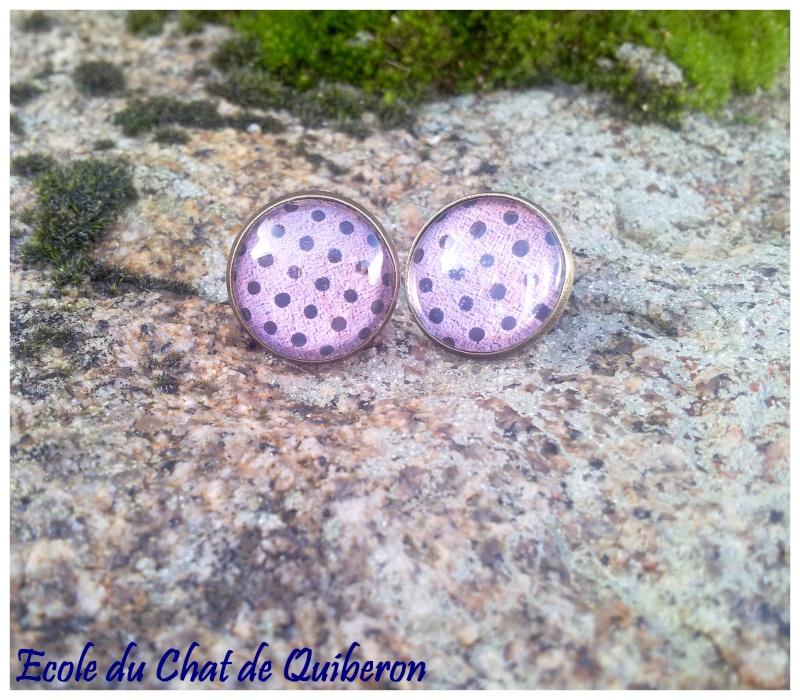 Les boucles d'oreilles...100% Fait-main, au profit de l'ECQ! 20131234