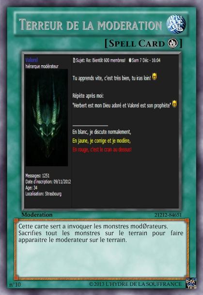 Tradings Cards version forum Terreu10