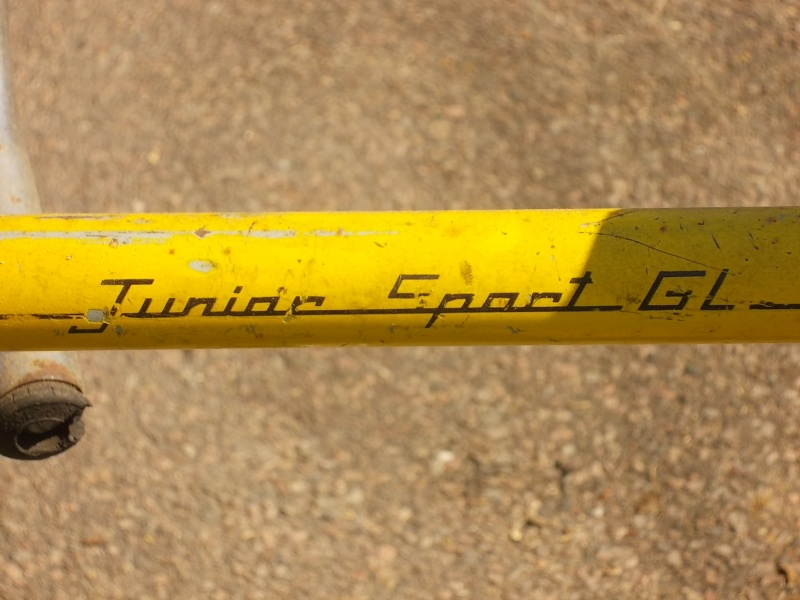 "motobécane "" junior sport GL  "" 07-1974 02910"