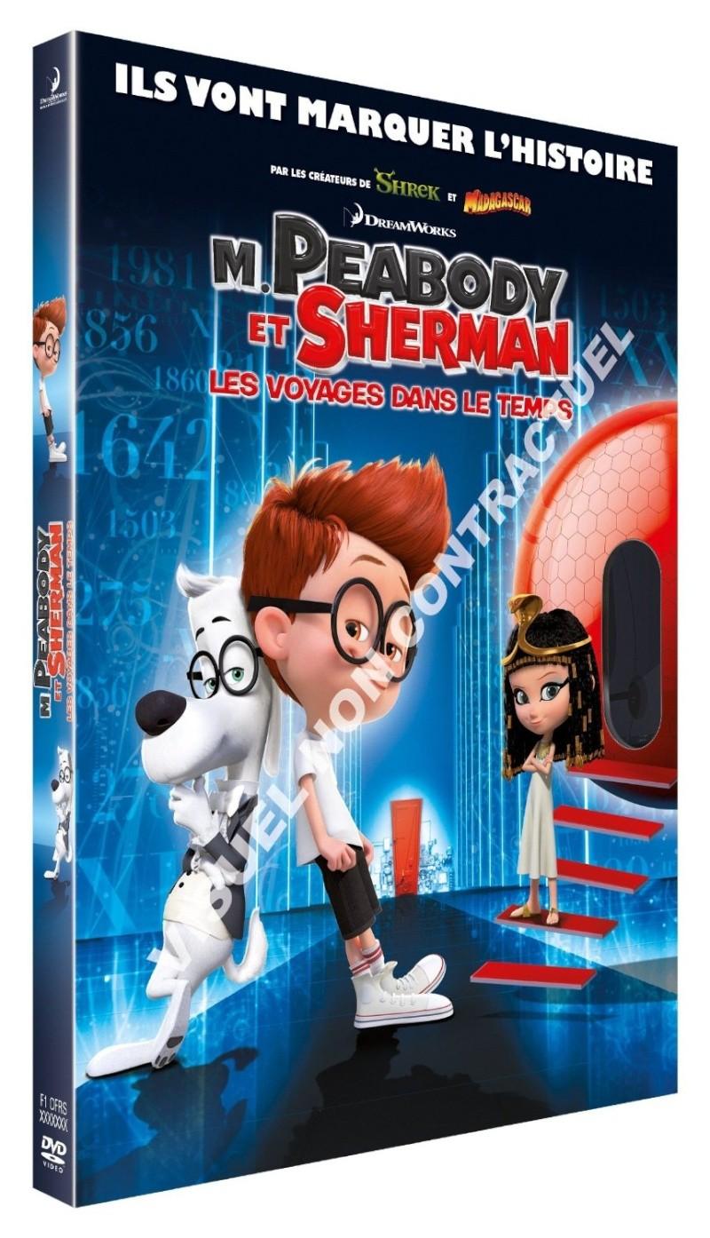 M. Peabody et Sherman - Les Voyages dans le Temps [20th Century - 2014] - Page 3 Dvd_mp10