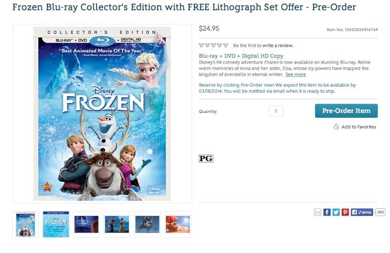 Les jaquettes DVD et Blu-ray des futurs Disney - Page 19 Frozen15