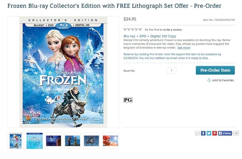 Les jaquettes DVD et Blu-ray des futurs Disney - Page 20 Frozen16