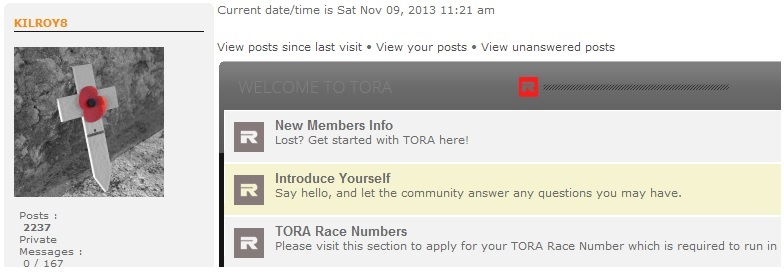 Upcoming Changes to the Forum Tora_e11