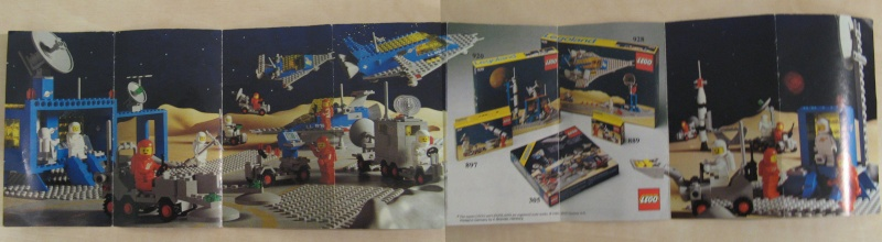 vari cataloghi LEGO anni '80 Minica11