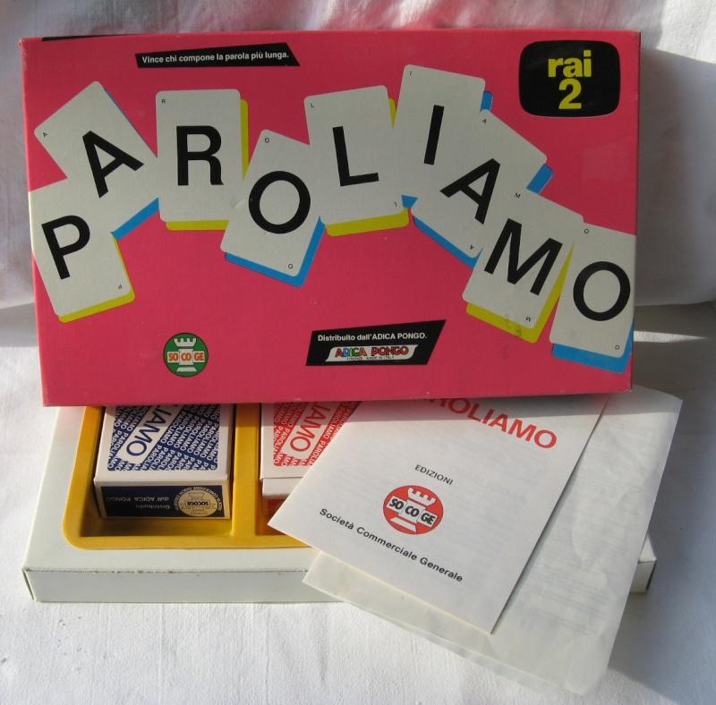 vendo PAROLIAMO gioco anni '80 Paroli10