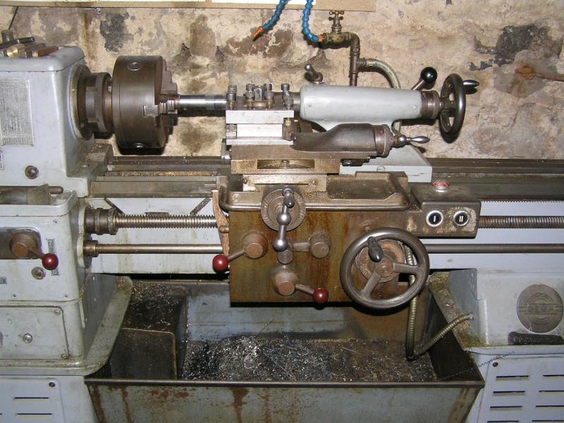 Engrenages tour Géma LZ160 P1030010