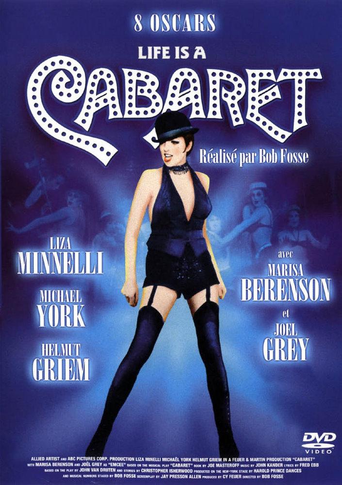 Affiche anniversaire 30 ans thème Cabaret Cabare10