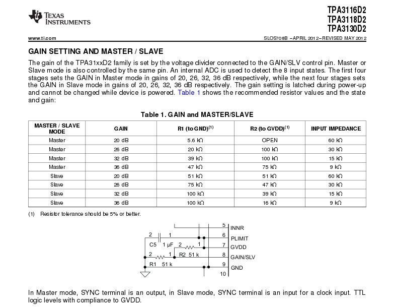 TPA 3116 - Pagina 6 Tpa31110