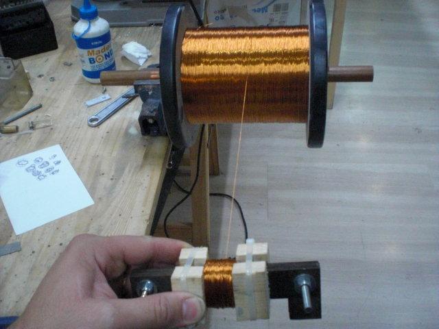 motor electrico de redireccionamiento de flujo magnetico  Cimg3721