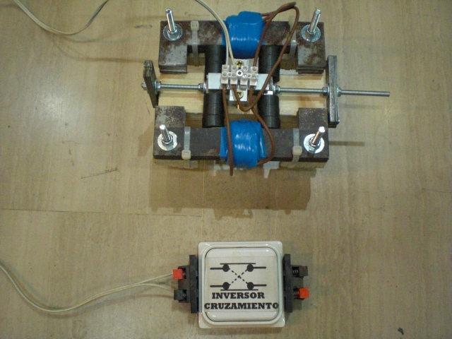 motor electrico de redireccionamiento de flujo magnetico  Cimg3725