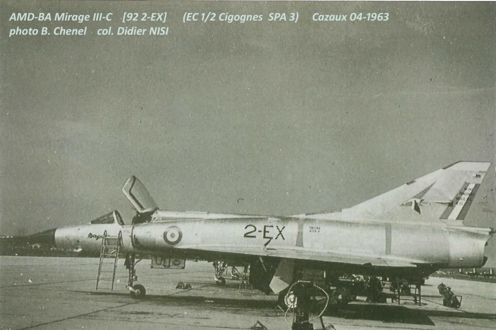 De l'alu dans l'azur - Mirage IIIC (Eduard 1/48) - Page 12 Amd_ii11
