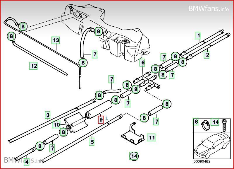 """[BMW 530 da E39] ne démarre pas""""pompe additionnelle""""[resolu] Pompe_10"""