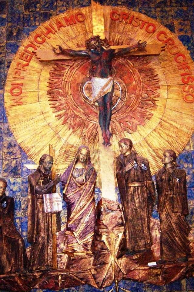 Venez voir le Santuaire de St Gabriel, province de Teramo 100_5639