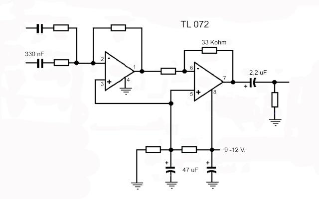 Ottenere un canale mono da due stereo Tl072_10